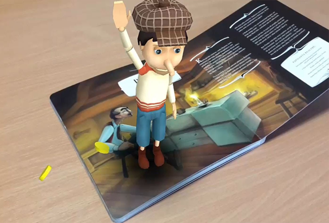 Project Name_Augmented Reality Book App
