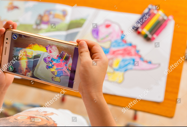 Project Name_Augmented Reality Coloring App